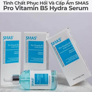Bảng thành phần serum Smax B5 Hydra cực kỳ lành tính