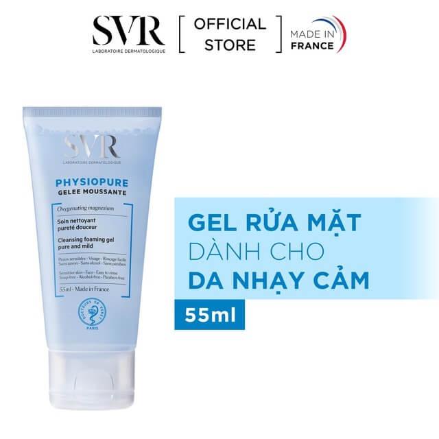 Sữa rửa mặt SVR cho da nhạy cảm